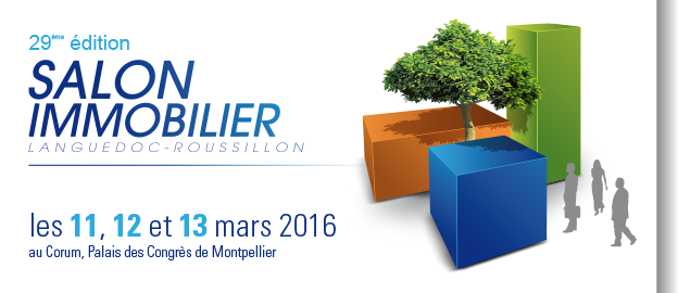 Salon de l immobilier au corum de montpellier les 111213 for Salon de l immobilier rennes